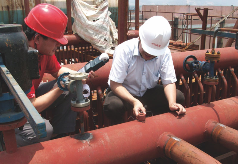 广州白云新生印染厂3.82MPa锅炉安装项目