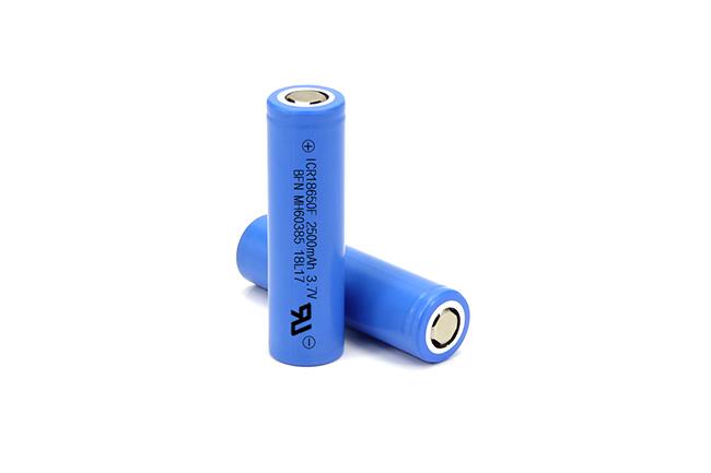 BFN 18650 3.7V 2500mAh 高容量中倍率电池/扭扭车电池