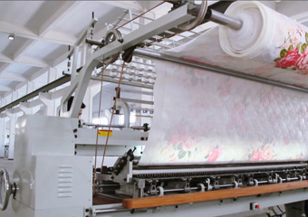 3.2 meters digital control air-condition quilts making machine