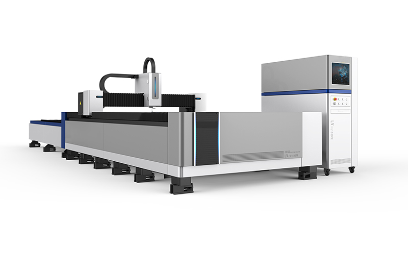 Open switching platform laser cutting machine