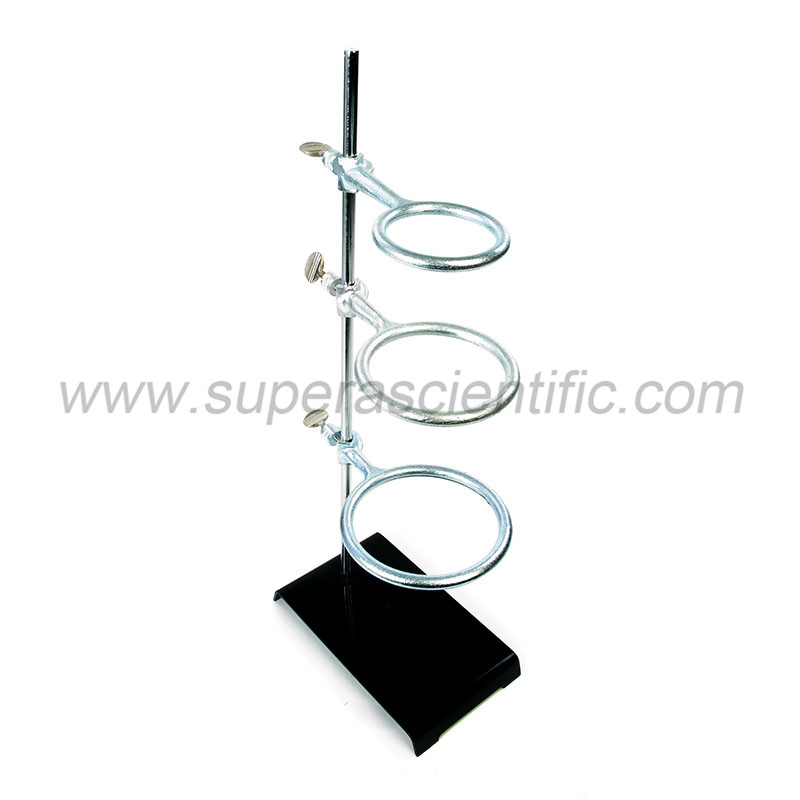 G89 Stamped Steel Support Ring Stand, Base 5""