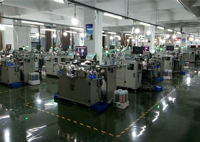 T1+T2 automatic winding machine