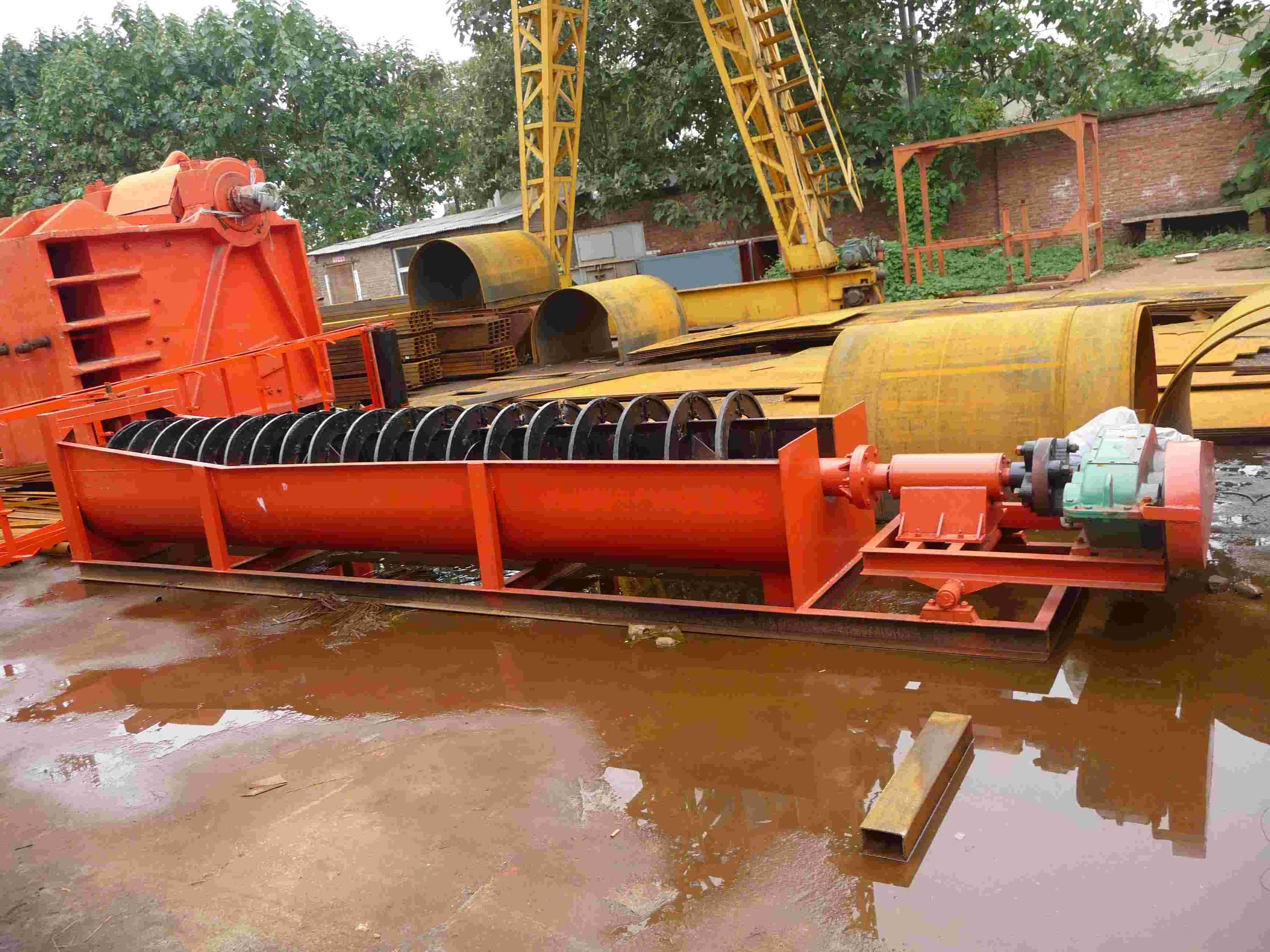 清洗海砂设备装车完成,发往辽宁葫芦岛!