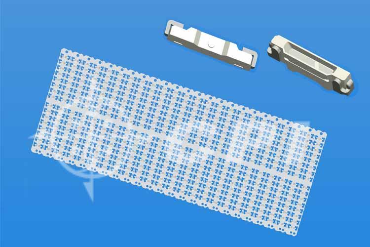 LED020十六排支架白膠杯深0.30總高1.2   (16X24)   (P02331A)