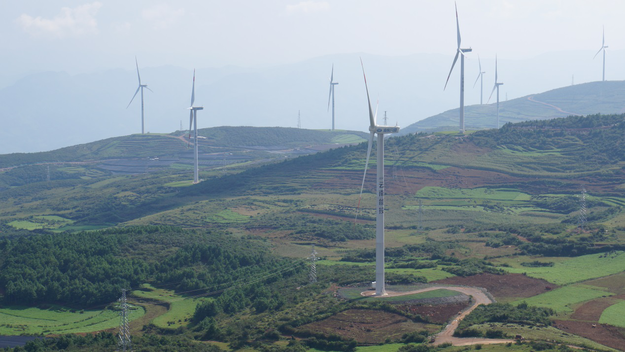 云南省瀘西縣孔照普風電場(48MW)建設項目