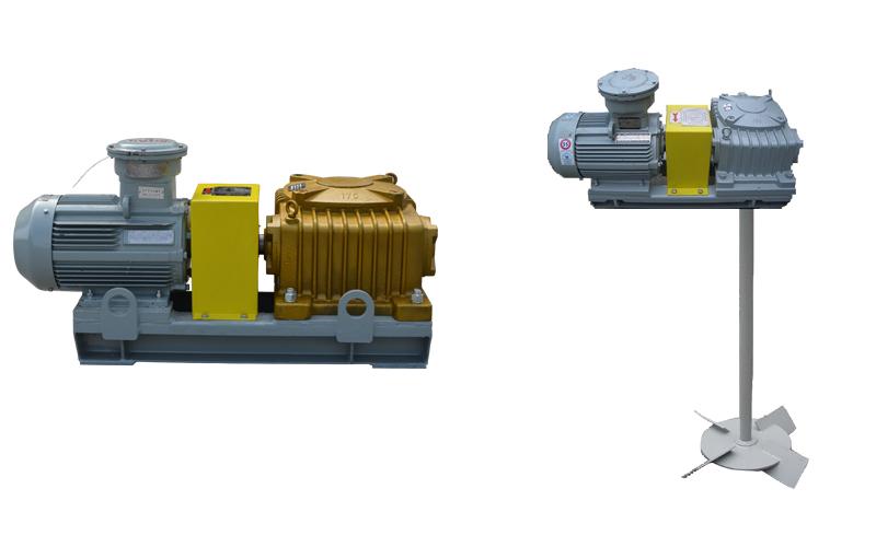 石油鉆井工業用鉆井液攪拌器的葉輪裝置