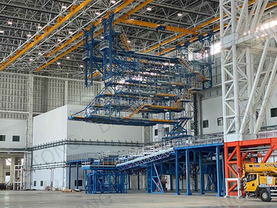 北京大興國際機場南航維修基地-A380寬體機塢
