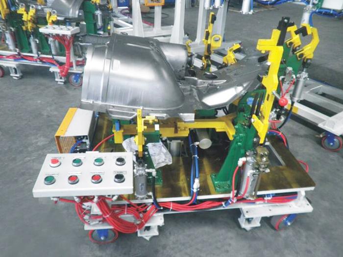 汽車焊接工裝卡具