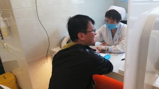 yabo官网党委关爱职工健康  组织开展健康体检活动