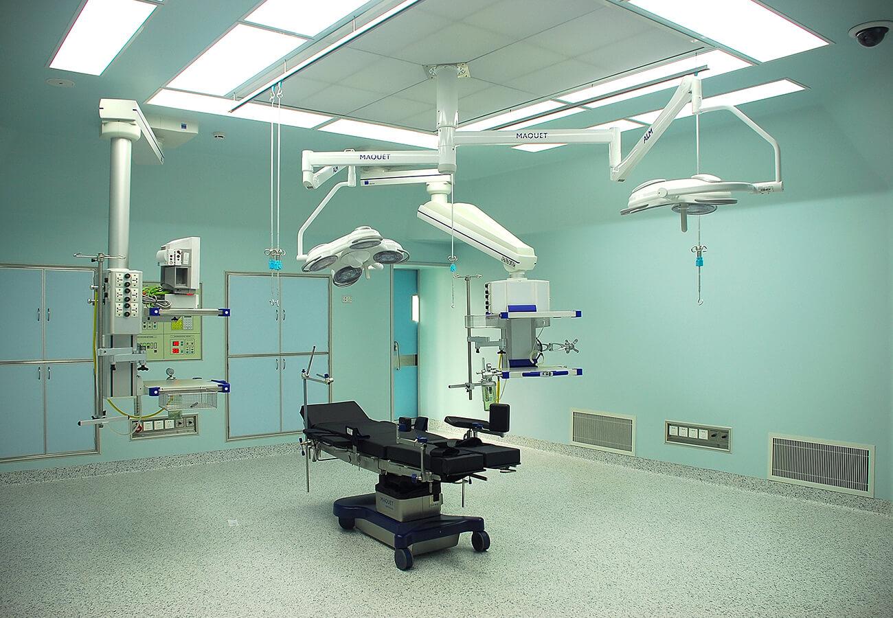 手術室工程的施工程序