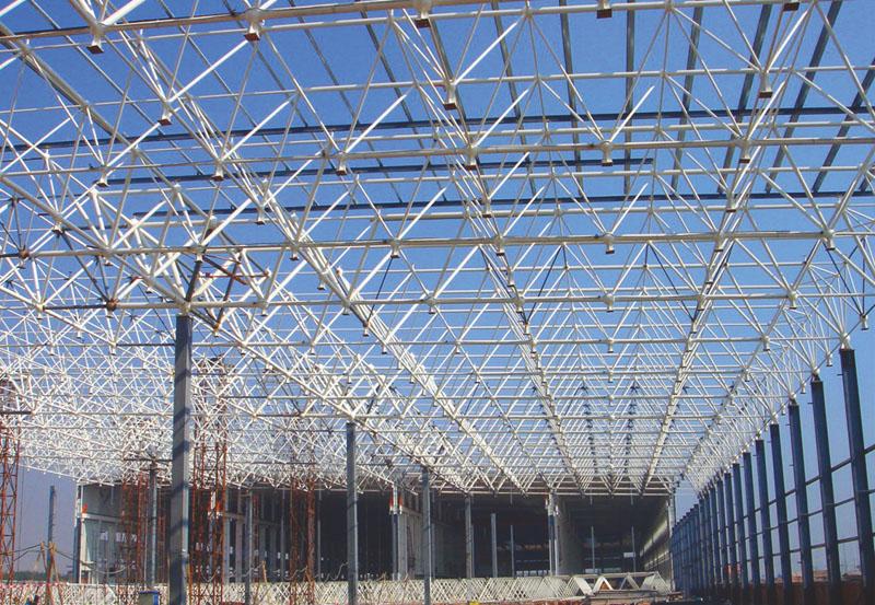 金龙汽车城钢结构