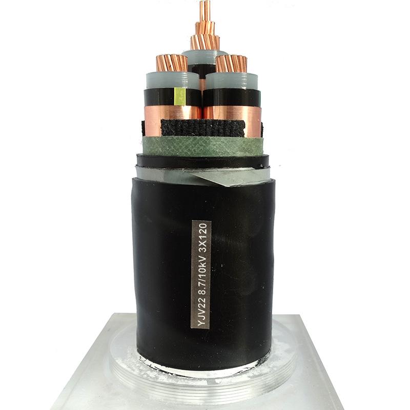 10KV电力电缆YJV22 8.7/10kV 3X120