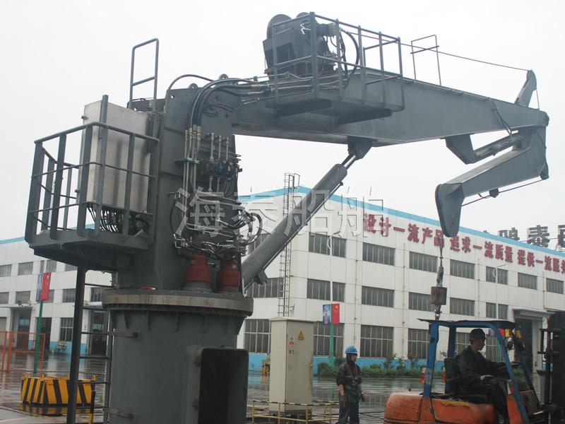 Electric/Hydraulic Knuckle Boom Crane
