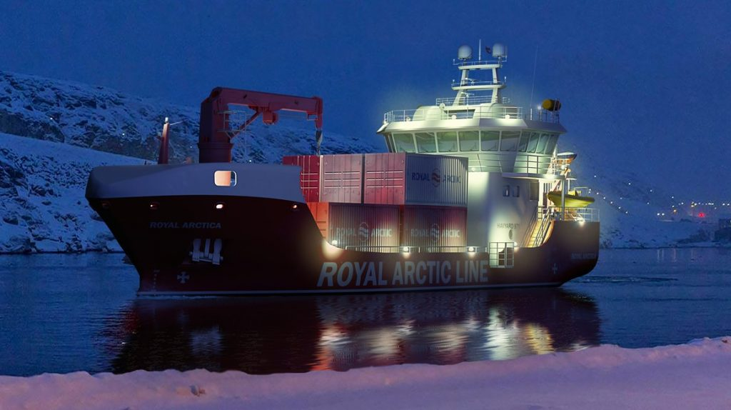 Havyard to Design Two More Cargo Ships for Royal Arctic Line