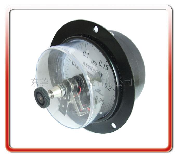 100MM軸向電接點壓力表