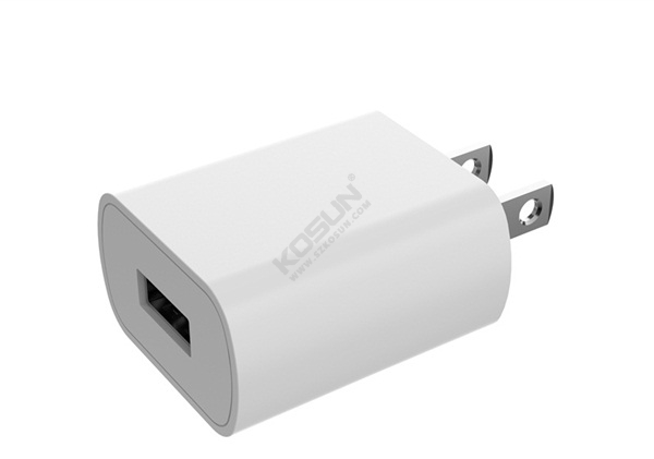 5V/1A Fixed Plug Wall Charger