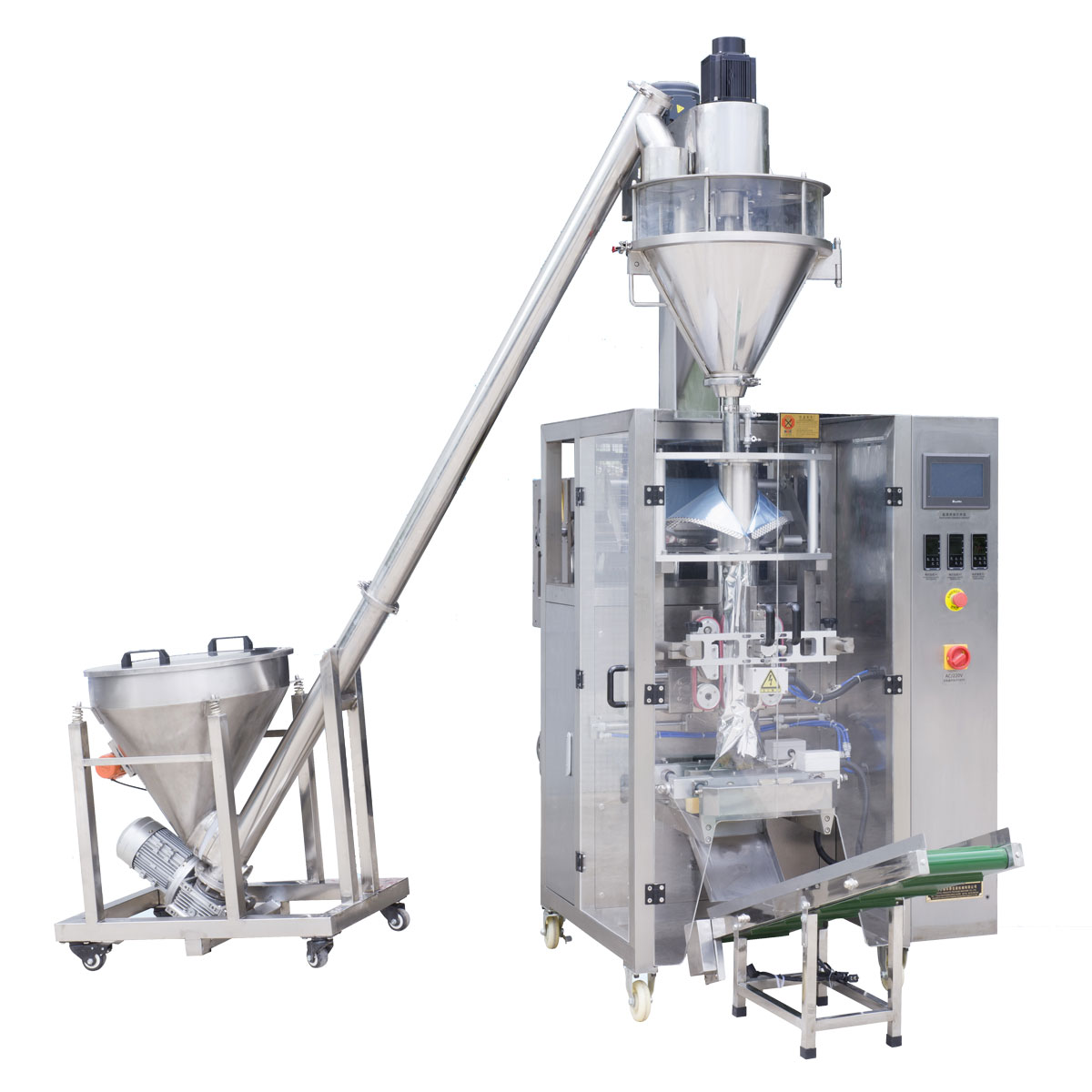 DF-420 Automatic vertical powder packaging machine (back sealing )