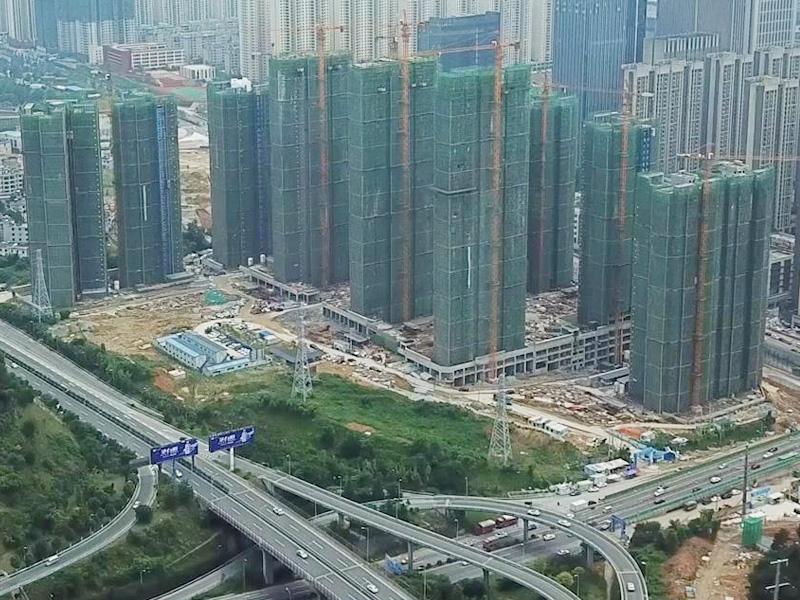 貴陽國際金融中心E區工程