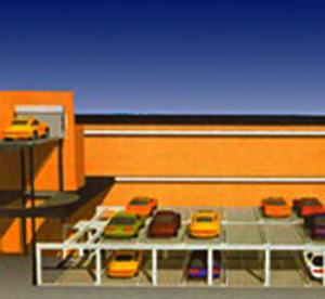 PPY 系列平面移动式停车设备
