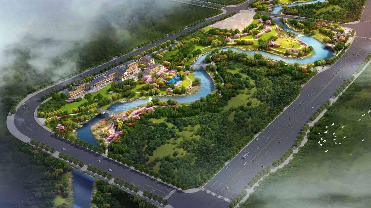 南川區鳳嘴江濱江地區(高架橋北側部分地塊)土地整治項目(新建道路工程)(在建)