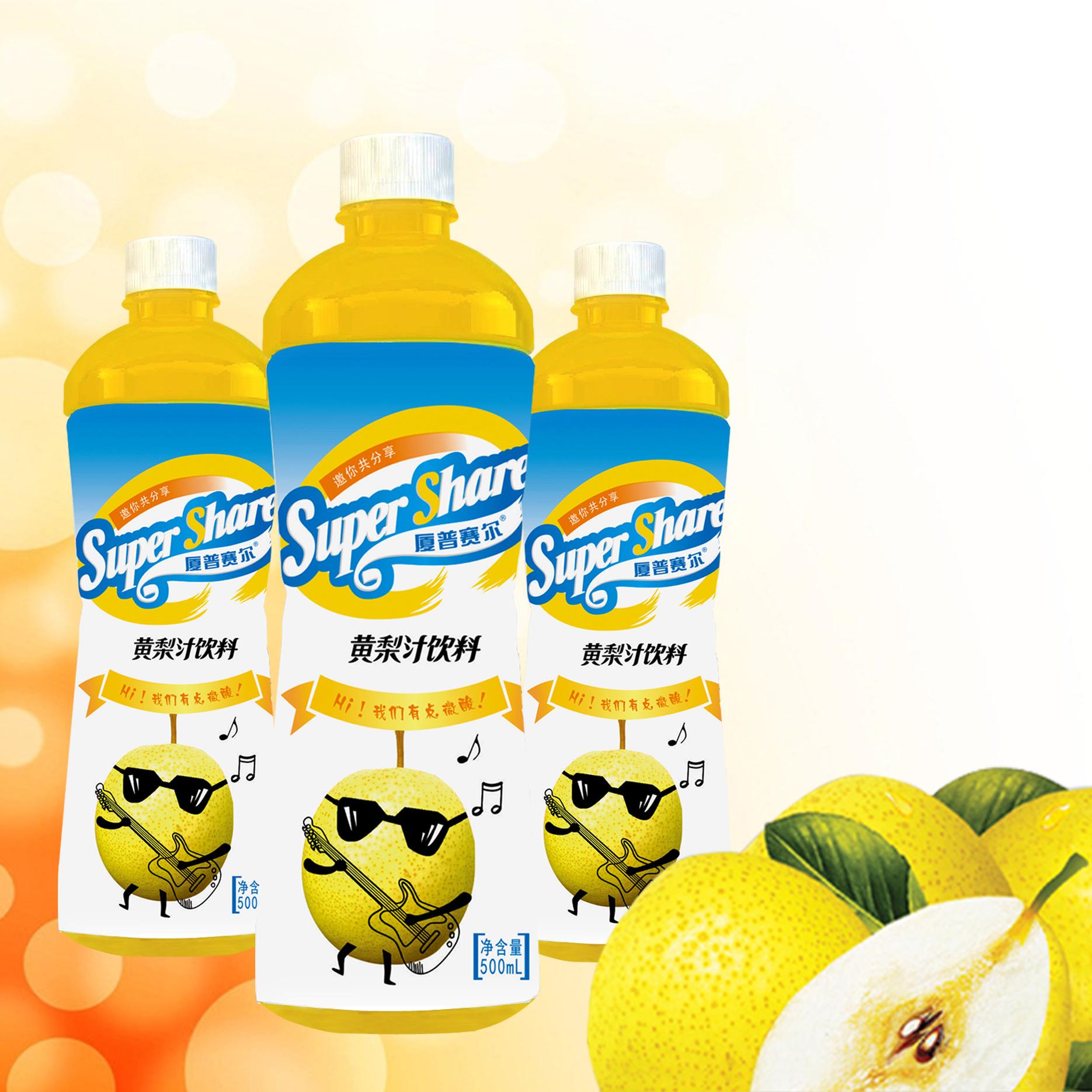 500mL黃梨汁飲料