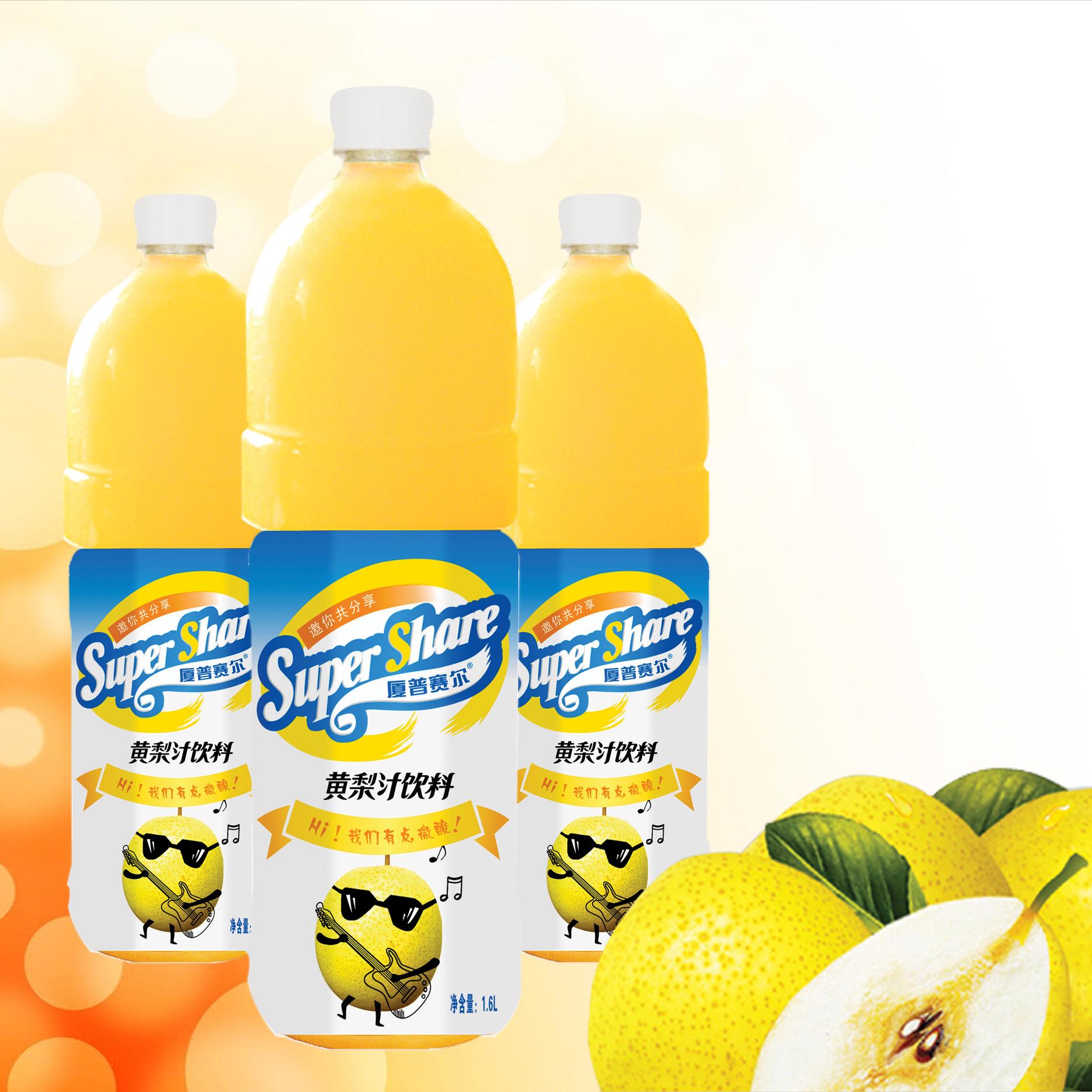 1.6L黃梨汁飲料