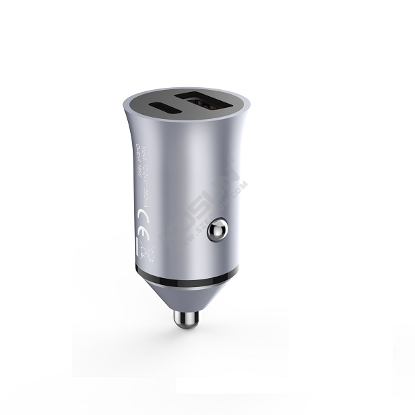 PD 36W Metal Housing Car Charger
