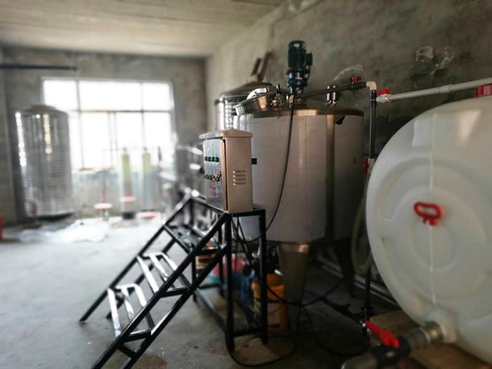 日產6--8噸洗衣液流水線視頻