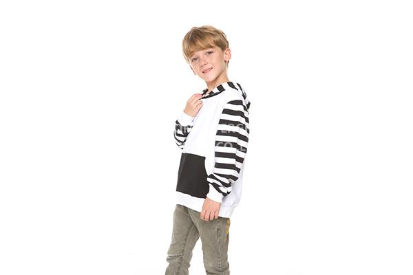 boys kids hooded sweather