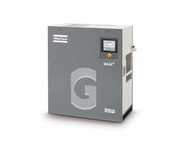 Oil-injected screw air compressor GA11+~30 kW