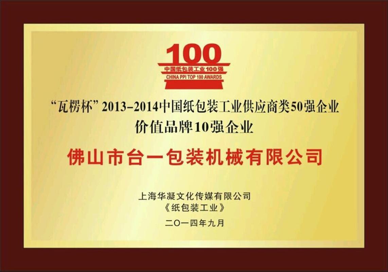 2014年明輝杯十強企業