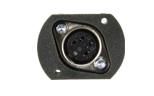 带绝缘隔离的4P-DIN 可焊接式母座