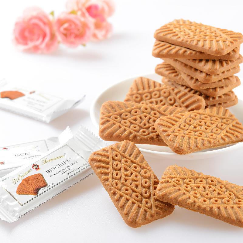 比利时进口 珍爱(Treasure Biscrips)焦糖饼干 休闲零食 150g/袋