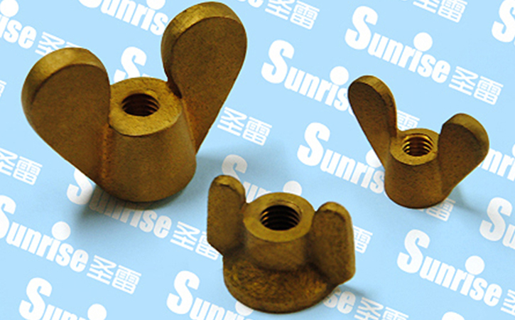 Brass Casted Wing Nut