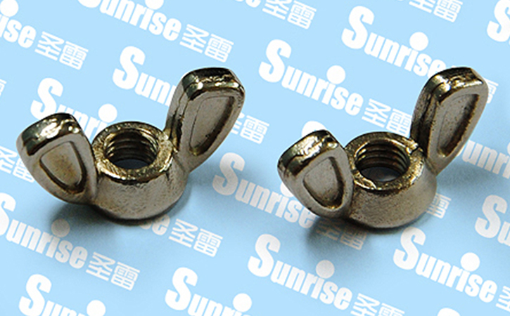 Zinc-alloy Die-cast Wing Nut