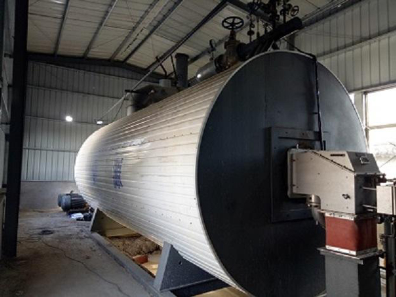 Horizontal gas heat conduction oil boiler