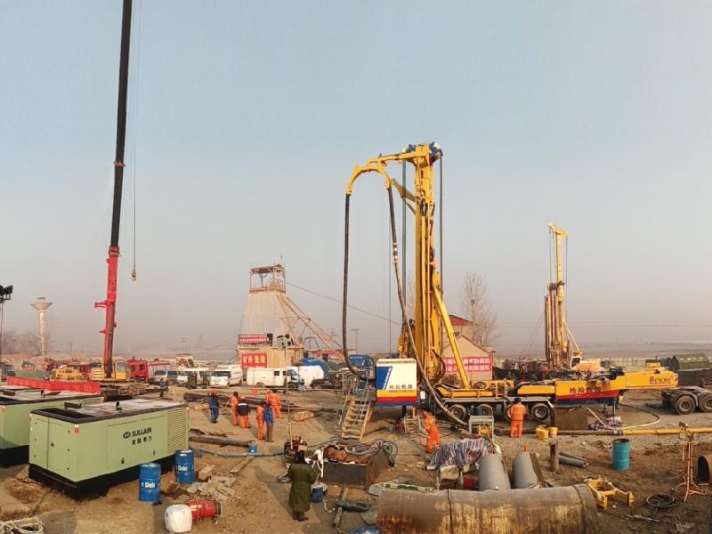 臨沂市平邑縣萬莊石膏礦區坍塌事故救援工作