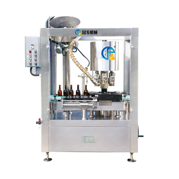 Automatic aluminum cap sealing machine