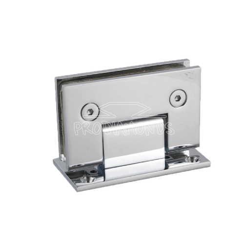Shower door Hinge square glass cut-out