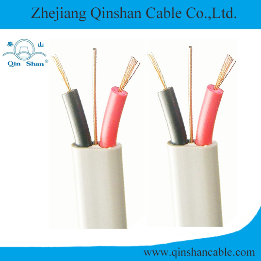 2C+E Copper Core PVC Insulated and Sheathed Flexible Flat Electrical Cable