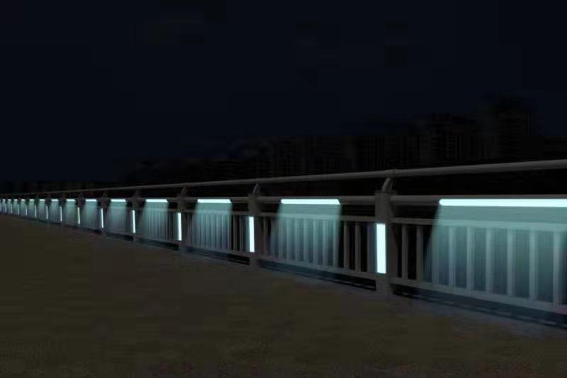 橋梁河道景觀燈光隔離護欄