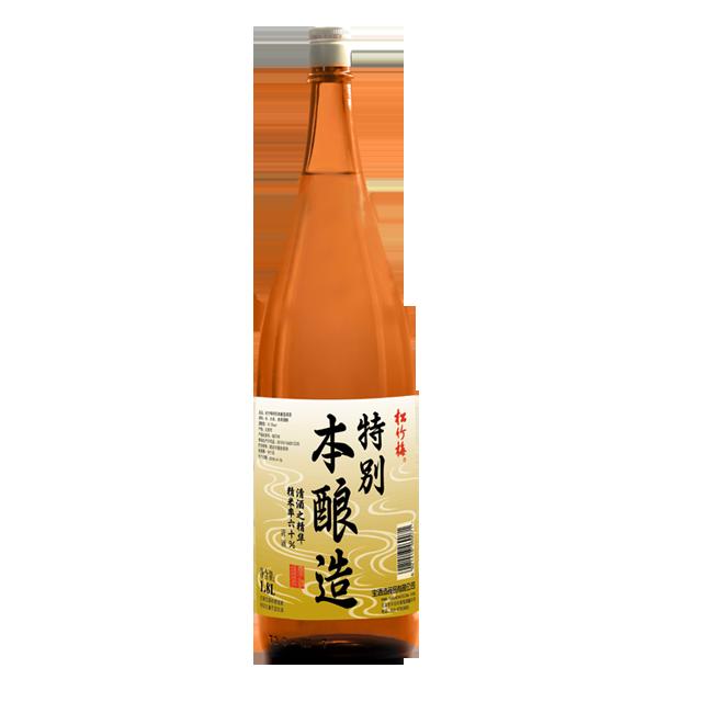 松竹梅特别本酿造清酒<br/>1.8L