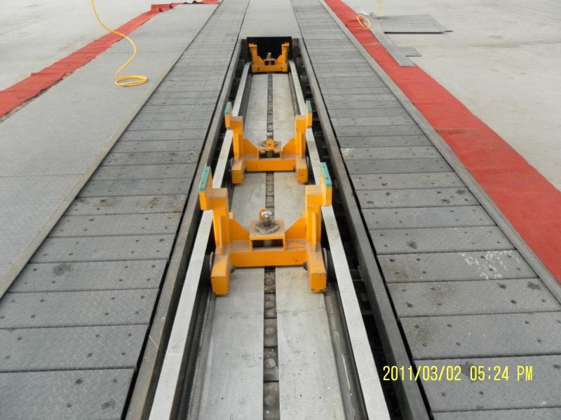 DT200垂直返回式输送机