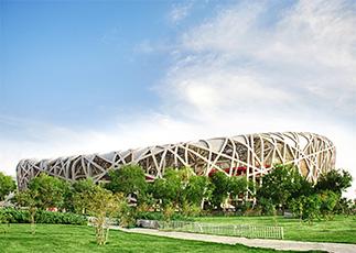 北京鸟巢体育馆