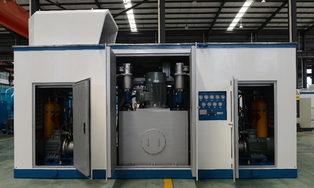 液壓活塞式CNG子站標準站雙工作模式壓縮機