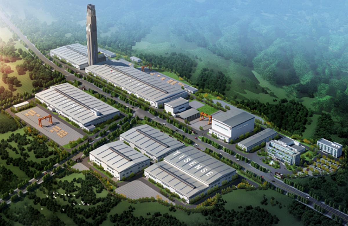 山東電工電氣重慶泰山環保遷建項目二標段(在建)