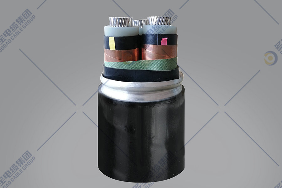 Aluminum alloy conductor XLPE insulated interlocked armored PVC sheathed power cable