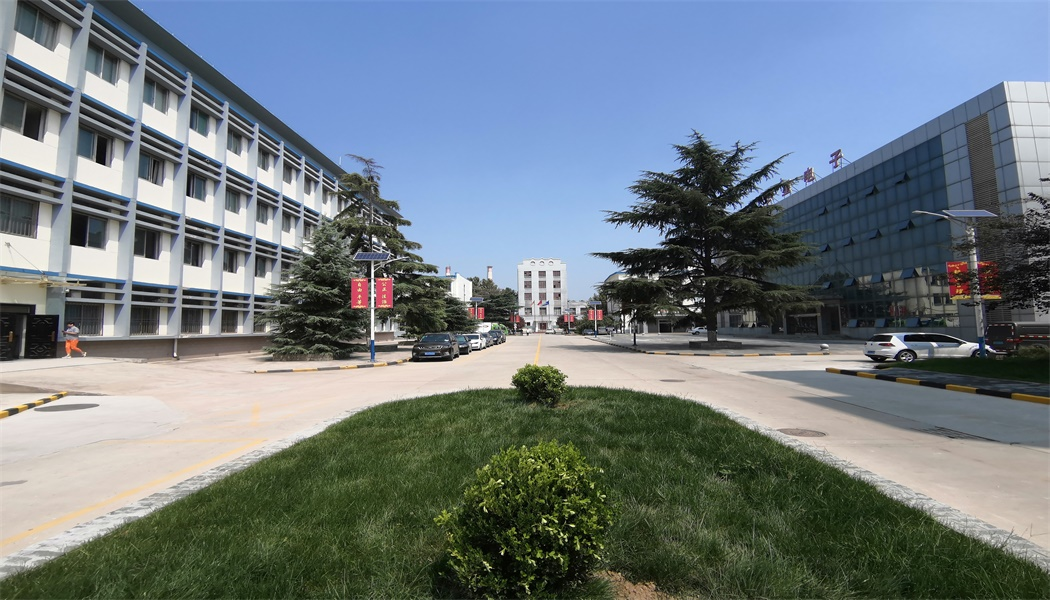 陕西华星电子集团有限公司生产区大路