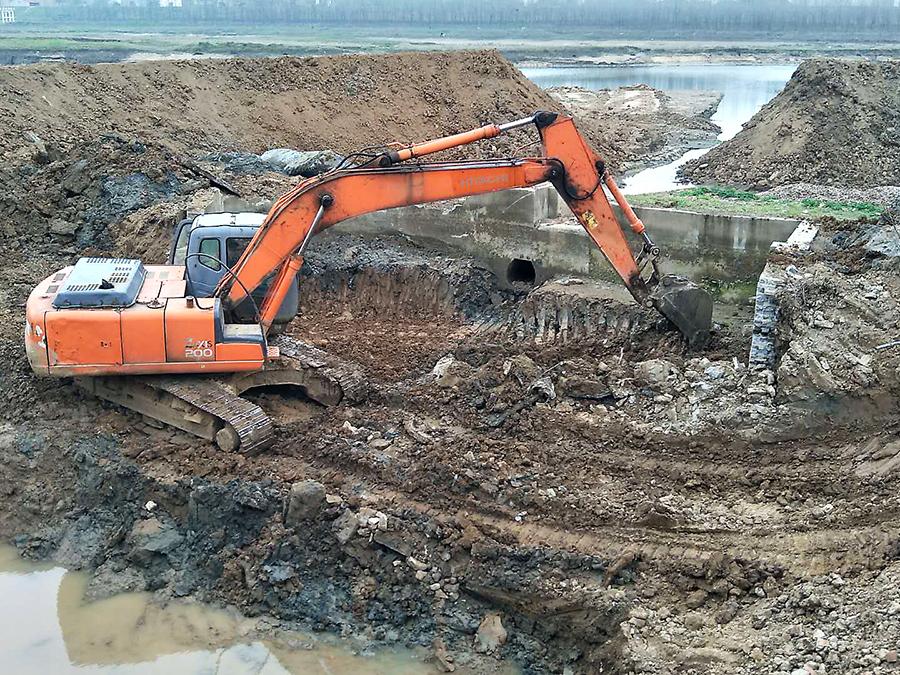 湖北省汉北河防洪治理二期工程(荆门段)施工第12标段