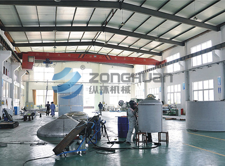 Manual argon arc welding area